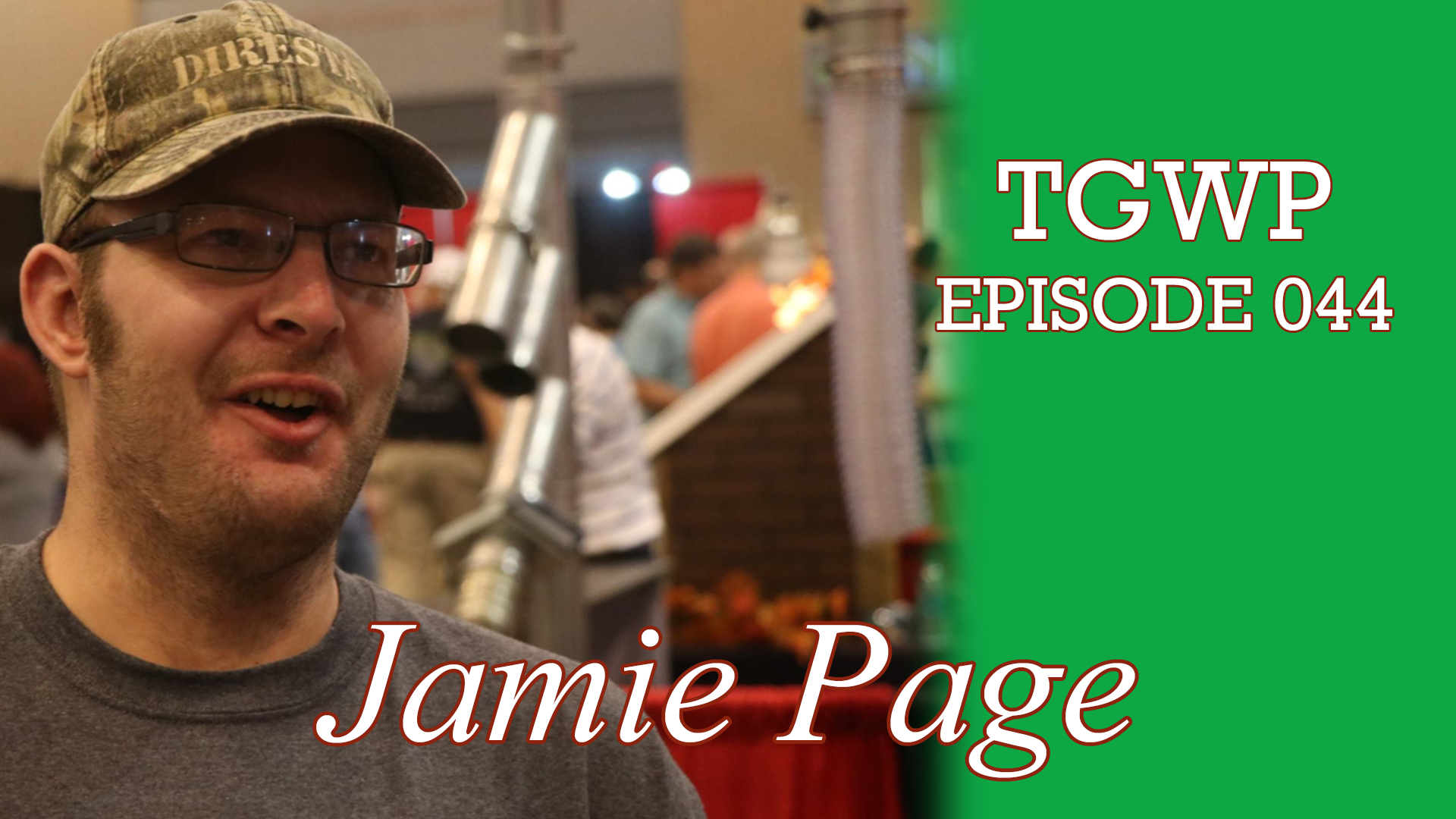 The Green Woodworker Podcast: Episode 044 Jamie Page, International Man of Mystery