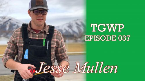 The Green Woodworker Podcast: Episode 037 Jesse Mullen from Mullen Woodworks